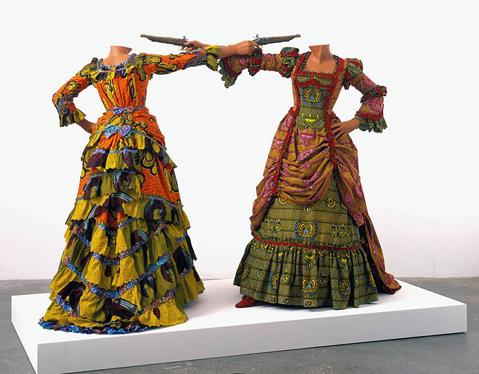 Yinka Shonibare  dans Etrange shonibare