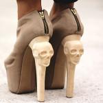 Kermit tesoro Skull heels