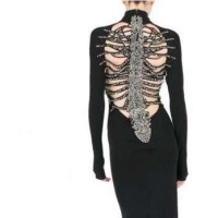 dsquared-back-skeleton-dress