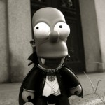 Simpsons' custom toys by Toy2R