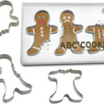 Gingerbread Men ABC Cookie Cutter Set