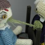 Crochet Amigurumi Exorcist Playset