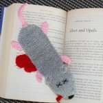 Squashed rat bookmark