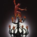 Lucio Bubacco's Glass Sculptures
