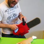Steff Bomb's Plush Chainsaw