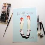 Zombie Leg Love