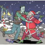 Strange Santas by Danny Hellman