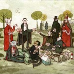 Picnic with the Draculas