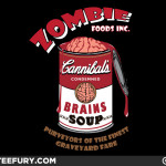 Canned Zombie T-shirt