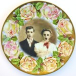 Amazing Altered Antique Plates