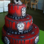 Epic Day of the Dead Cake