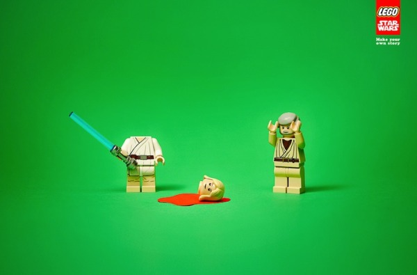 Who killed bambi funny lego advertisements for Lego ads tejasakulsin