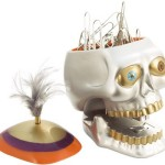 Skull Stapler and Paper Clip Holder