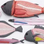 Mutsumi Kozasa's fish cushions