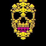 Space Invaders Skull
