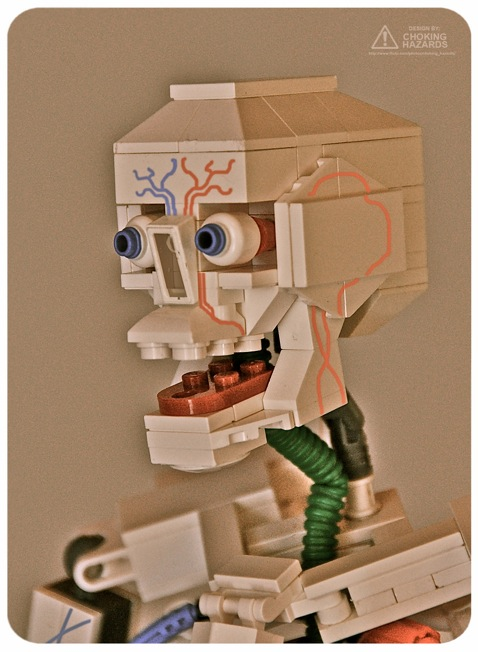 Clay Morrow LEGO skeleton skull