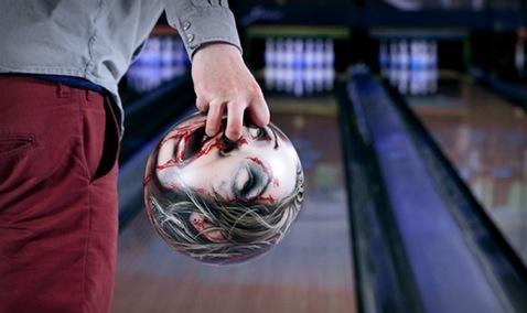 Zombie Head Bowling Balls 1