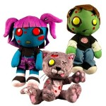 Creepy Cuddlers Series Zombies Plush Set