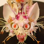 Creepy Flower Encrusted Skeletons