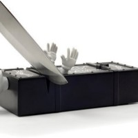 Fred and Friends Sharp Act Knife Sharpener-2