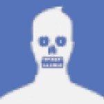 8-bit Facebook Profile Zombie