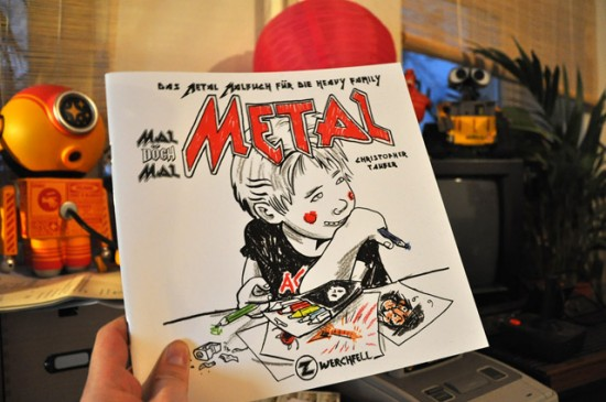 who killed bambi? » Heavy Metal Coloring Book