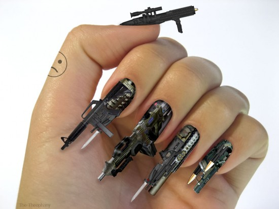 Who killed bambi nail art image of the day via thetheophany tags nail art prinsesfo Choice Image