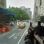 Google Street View First Person Shooter