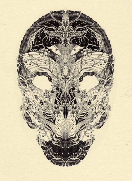 Anacridium skull etude no1 600x825