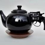Revolver Teapot