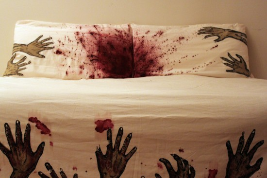 Zombie Bed Sheets Queen Size
