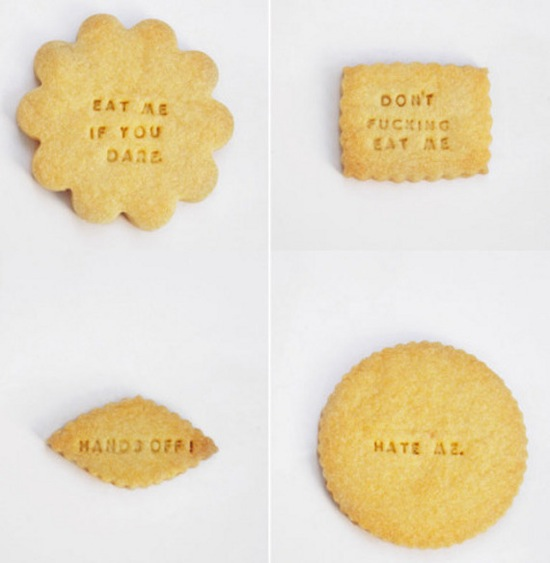 Design fetish rude messaged diet cookies 2