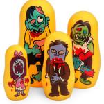 Matryoshka Zombie Nesting Dolls
