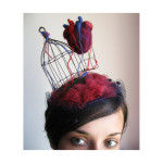 Anatomical heart millinery