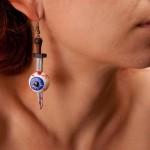 Eyeballs earrings