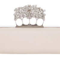 Snowflake Knucklebox Clutch