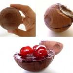 Cherry cordial chocolate Death Star