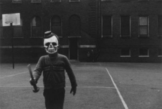 Halloween, South Side - 1951- Chicago - Yasuhiro Ishimoto