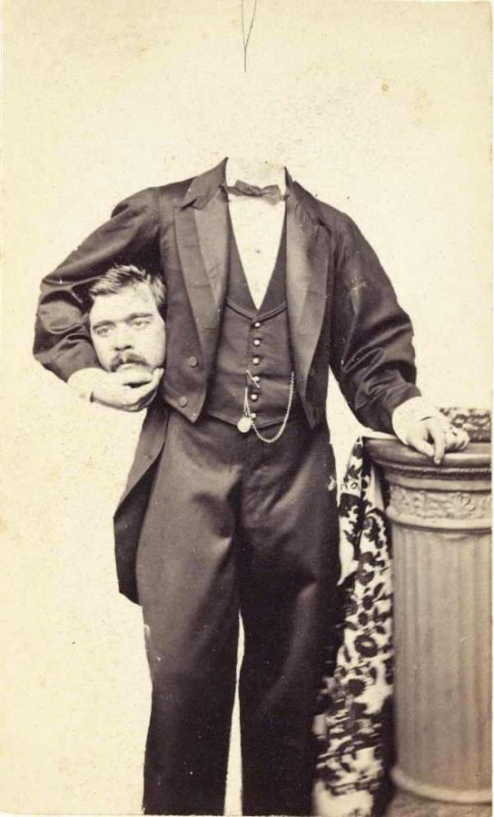 Victorian Headless Portraits