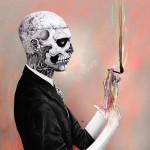 Rick Genest portrait