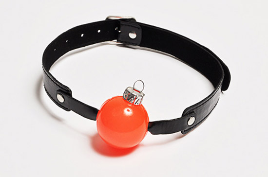 xmas ball gag