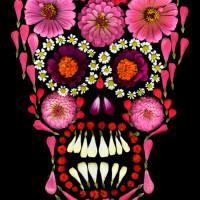 skull flower