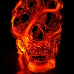 Glass Skull Sculptures