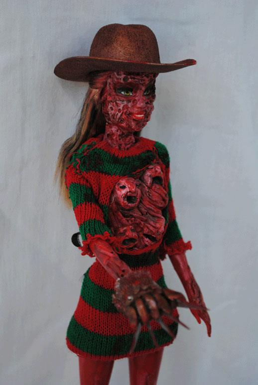Freddie Krueger Barbie