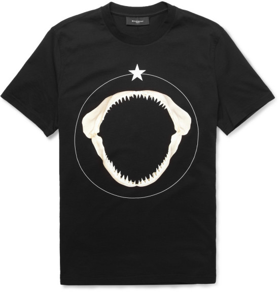 Givenchy shark teeth-print t-shirt