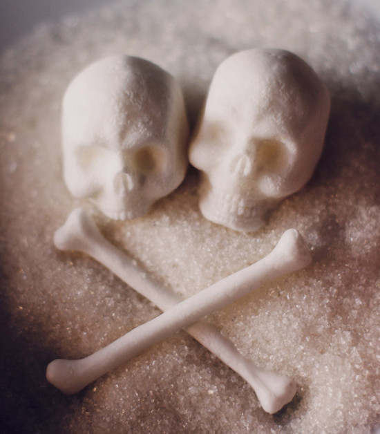 Skull Sugar by Snow Violent