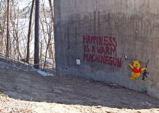 Herr Nilsson - happiness is a warm machine gun