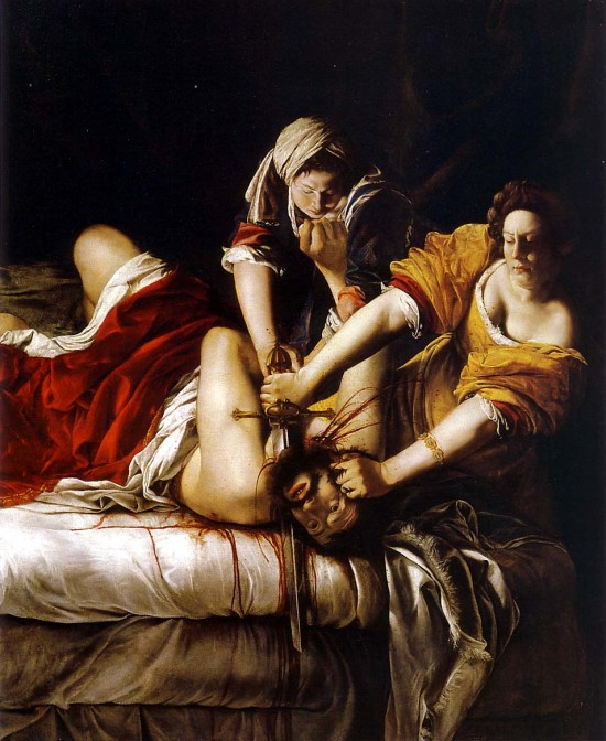 Judith Beheading Holofernes - Artemisa Gentileschi