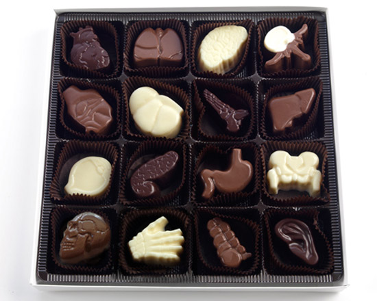 Anatomically Correct Chocolates 16 piece