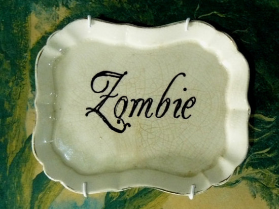 Zombie small plate